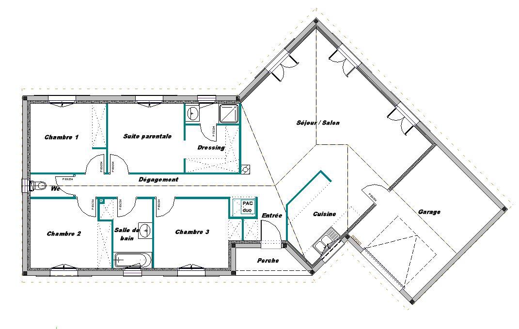 VERTIGO 4Ch + garage 114.21m2